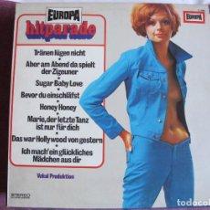 Discos de vinilo: LP - EUROPA HITPARADE - ORCHESTER UDO REICHEL (GERMANY, EUROPA RECORDS SIN FECHA). Lote 147736962