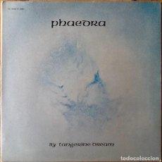 Discos de vinilo: TANGERINE DREAM : PHAEDRA [ITA 1975]. Lote 147737002