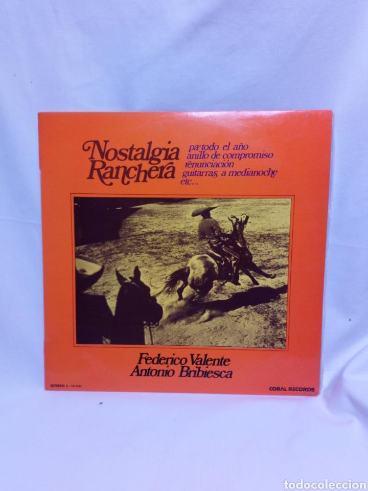 NOSTALGIA RANCHERA LP (Música - Discos - LP Vinilo - Grupos y Solistas de latinoamérica)