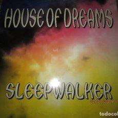 Discos de vinilo: HOUSE OF DREAMS - SLEEPWALKER MAXI 45 R.P.M. ORIGINAL ESPAÑOL - MUSIC FACTORY 1997 -. Lote 147739122