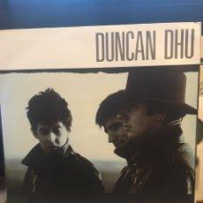 Discos de vinilo: DUNCAN DHU-EL GRITO DEL TIEMPO-1987-CON LETRAS. Lote 147739225