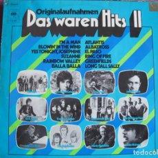 Discos de vinilo: LP - DAS WAREN HITS II - VARIOS (HOLLAND, CBS 1972, VER FOTO ADJUNTA). Lote 147739414