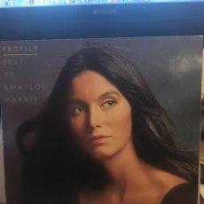 Discos de vinilo: EMMYLOU HARRIS-PROFILE BEST OF EMMYLOU HARRIS-1978-VINILO SIN USO. Lote 147740248