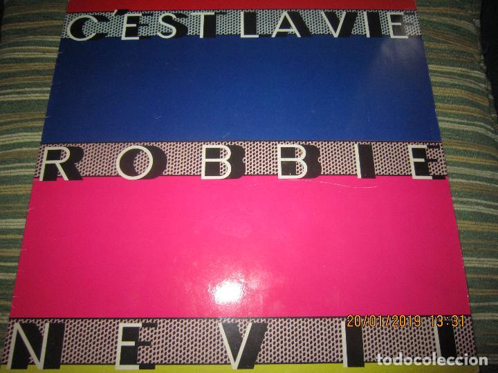 ROBBIE NEVILL - CÉST LA VIE MAXI 45 R.P.M. - ORIGINAL HOLANDES - EMI RECORDS 1986 - (Música - Discos de Vinilo - Maxi Singles - Pop - Rock - New Wave Extranjero de los 80)