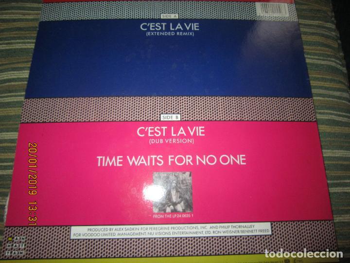 Discos de vinilo: ROBBIE NEVILL - CÉST LA VIE MAXI 45 R.P.M. - ORIGINAL HOLANDES - EMI RECORDS 1986 - - Foto 2 - 147741126