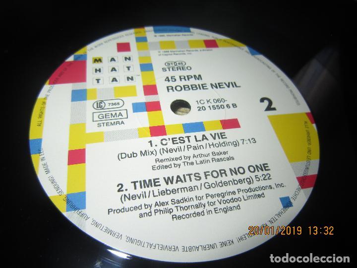 Discos de vinilo: ROBBIE NEVILL - CÉST LA VIE MAXI 45 R.P.M. - ORIGINAL HOLANDES - EMI RECORDS 1986 - - Foto 5 - 147741126