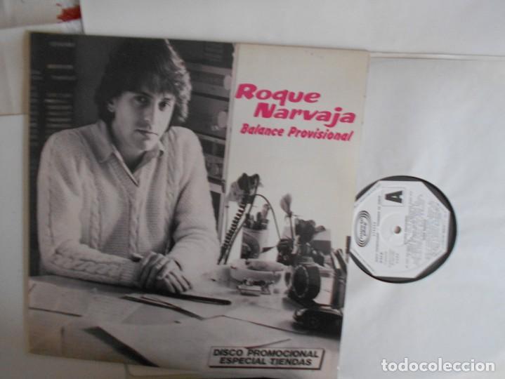 ROQUE NARVAJA-LP BALANCE PROVISIONAL-PROMO-NUEVO (Música - Discos - LP Vinilo - Grupos y Solistas de latinoamérica)