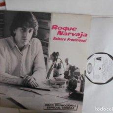 Discos de vinilo: ROQUE NARVAJA-LP BALANCE PROVISIONAL-PROMO-NUEVO. Lote 147741214