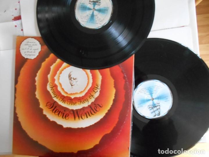 STEVIE WONDER-LP DOBLE SONGS IN THE KEY OF LIFE-LIBRETO CON LAS LETRAS + EP (Música - Discos - LP Vinilo - Funk, Soul y Black Music)