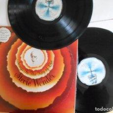 Discos de vinilo: STEVIE WONDER-LP DOBLE SONGS IN THE KEY OF LIFE-LIBRETO CON LAS LETRAS + EP. Lote 147744030