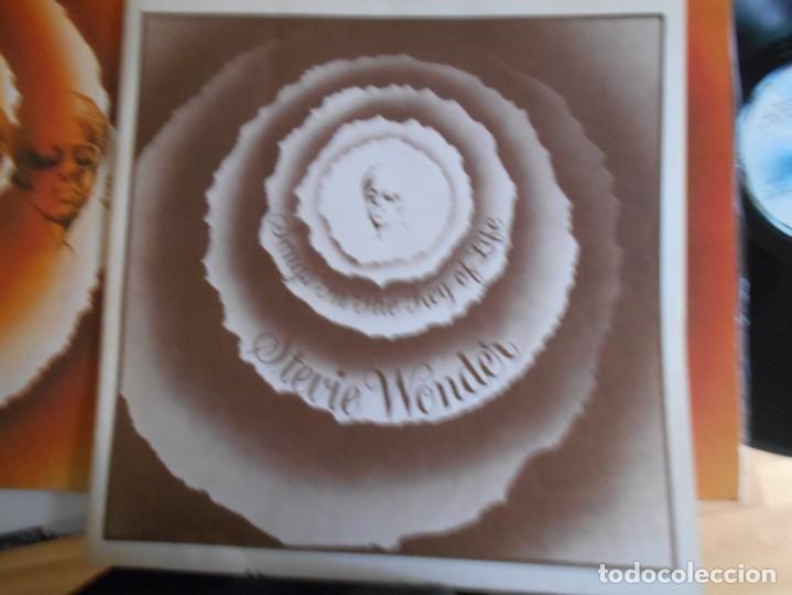 Discos de vinilo: STEVIE WONDER-LP DOBLE SONGS IN THE KEY OF LIFE-LIBRETO CON LAS LETRAS + EP - Foto 2 - 147744030