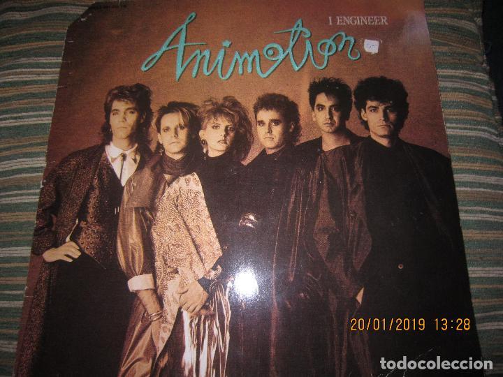 ANIMOTION - I ENGINER MAXI 45 R.P.M. - ORIGINAL ALEMAN - CASABLANCA RECORDS 1986 - (Música - Discos de Vinilo - Maxi Singles - Pop - Rock - New Wave Extranjero de los 80)