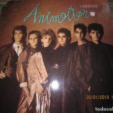Discos de vinilo: ANIMOTION - I ENGINER MAXI 45 R.P.M. - ORIGINAL ALEMAN - CASABLANCA RECORDS 1986 - . Lote 147745090