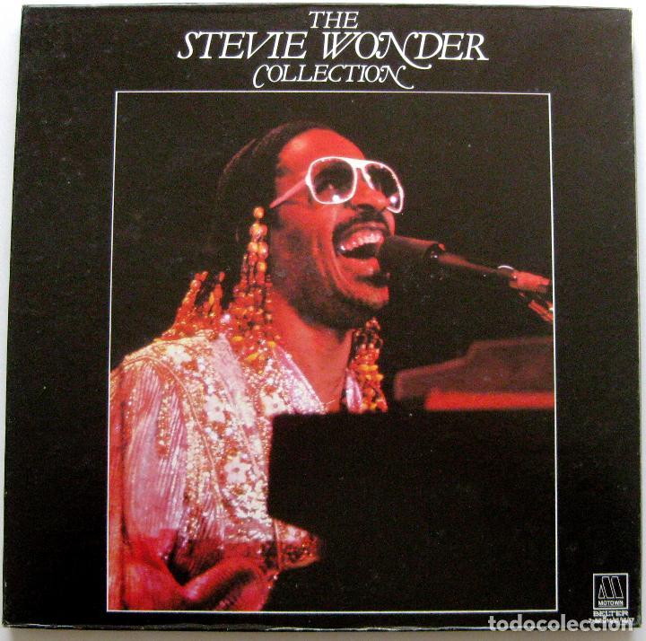 STEVIE WONDER - THE STEVIE WONDER COLLECTION - CAJA 4 LP MOTOWN 1982 BPY (Música - Discos - LP Vinilo - Funk, Soul y Black Music)
