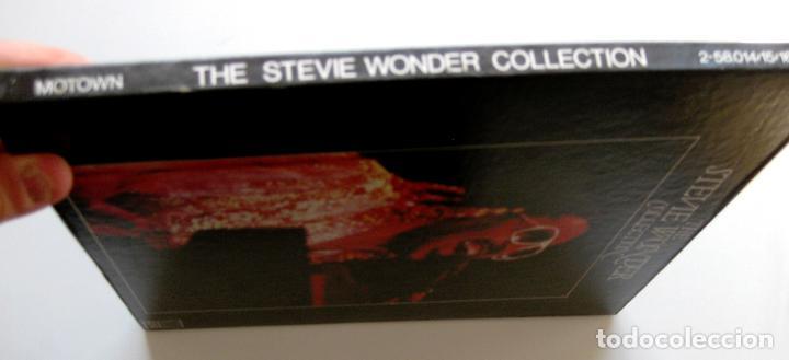 Discos de vinilo: Stevie Wonder - The Stevie Wonder Collection - Caja 4 LP Motown 1982 BPY - Foto 3 - 147745394