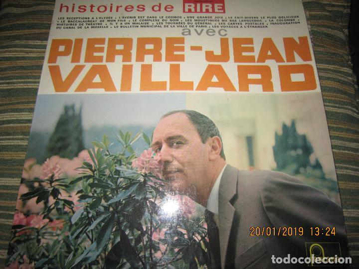 PIERRE-JEAN VAILLARD - HISTORIES DE RIRE LP - ORIGINAL FRANCES - FONTANA RECORDS 1960 - MONOAURAL - (Música - Discos - LP Vinilo - Otros estilos)