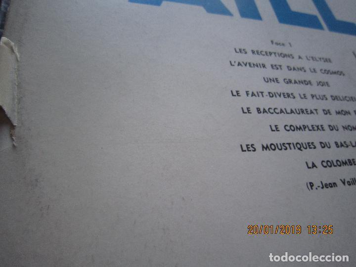 Discos de vinilo: PIERRE-JEAN VAILLARD - HISTORIES DE RIRE LP - ORIGINAL FRANCES - FONTANA RECORDS 1960 - MONOAURAL - - Foto 6 - 147747098
