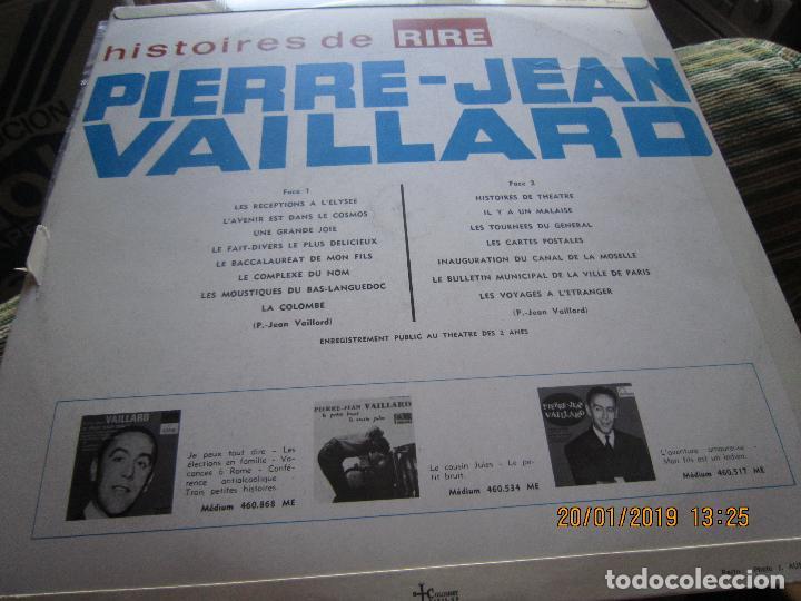 Discos de vinilo: PIERRE-JEAN VAILLARD - HISTORIES DE RIRE LP - ORIGINAL FRANCES - FONTANA RECORDS 1960 - MONOAURAL - - Foto 7 - 147747098