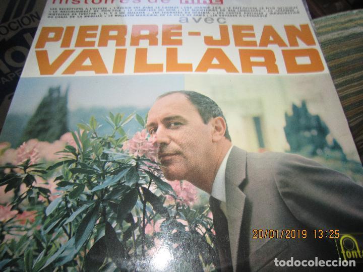 Discos de vinilo: PIERRE-JEAN VAILLARD - HISTORIES DE RIRE LP - ORIGINAL FRANCES - FONTANA RECORDS 1960 - MONOAURAL - - Foto 8 - 147747098