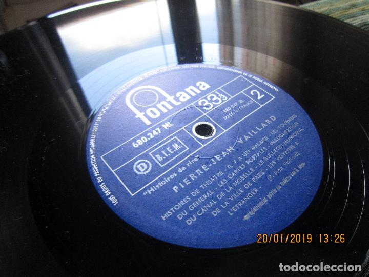 Discos de vinilo: PIERRE-JEAN VAILLARD - HISTORIES DE RIRE LP - ORIGINAL FRANCES - FONTANA RECORDS 1960 - MONOAURAL - - Foto 14 - 147747098