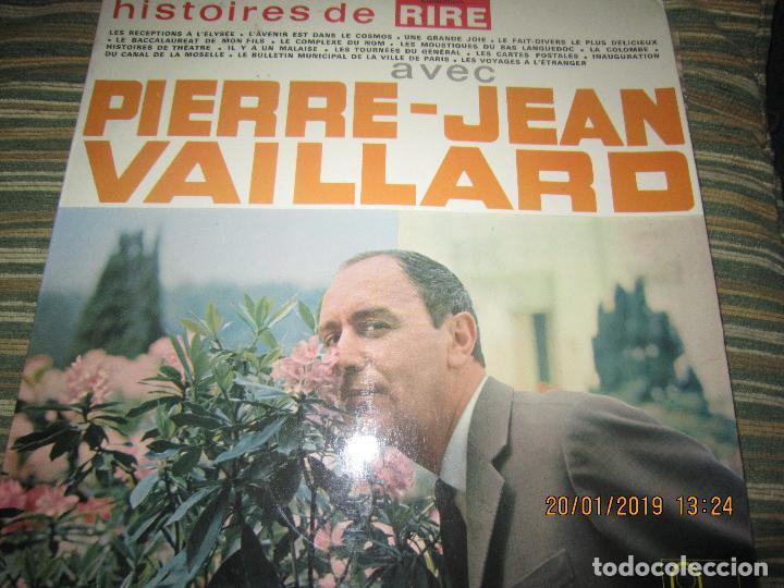 Discos de vinilo: PIERRE-JEAN VAILLARD - HISTORIES DE RIRE LP - ORIGINAL FRANCES - FONTANA RECORDS 1960 - MONOAURAL - - Foto 16 - 147747098