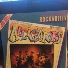 Discos de vinilo: ALLIGATORS-ROCKABILLYGATOR/CHRIS EVANS-1981-2 LP-EXCELENTE ESTADO. Lote 147748885