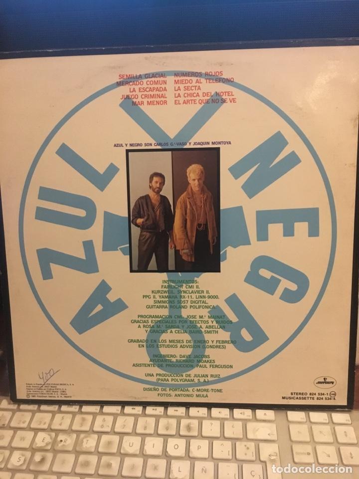 Vinyl-Schallplatten: AZUL Y NEGRO-MERCADO COMUN-1985-ENCARTE CON LETRAS-VINILO SIN USO - Foto 3 - 147749760