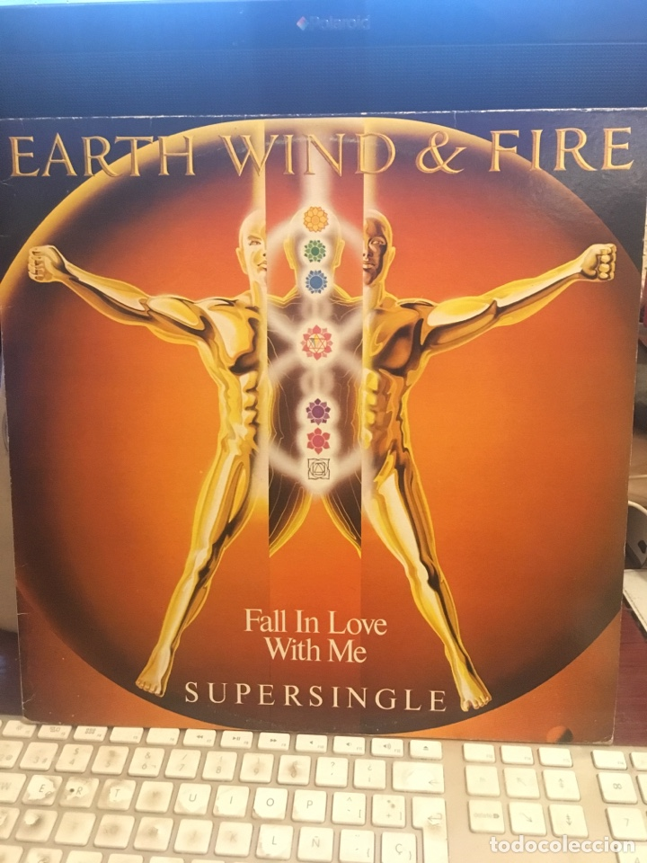 EARTH WIND & FIRE-FALL IN LOVE WITH ME-PROMO 1983 LABEL BLANCO RARO-VINILO SIN USO (Música - Discos de Vinilo - Maxi Singles - Pop - Rock - New Wave Extranjero de los 80)