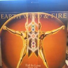 Discos de vinilo: EARTH WIND & FIRE-FALL IN LOVE WITH ME-PROMO 1983 LABEL BLANCO RARO-VINILO SIN USO. Lote 147751600