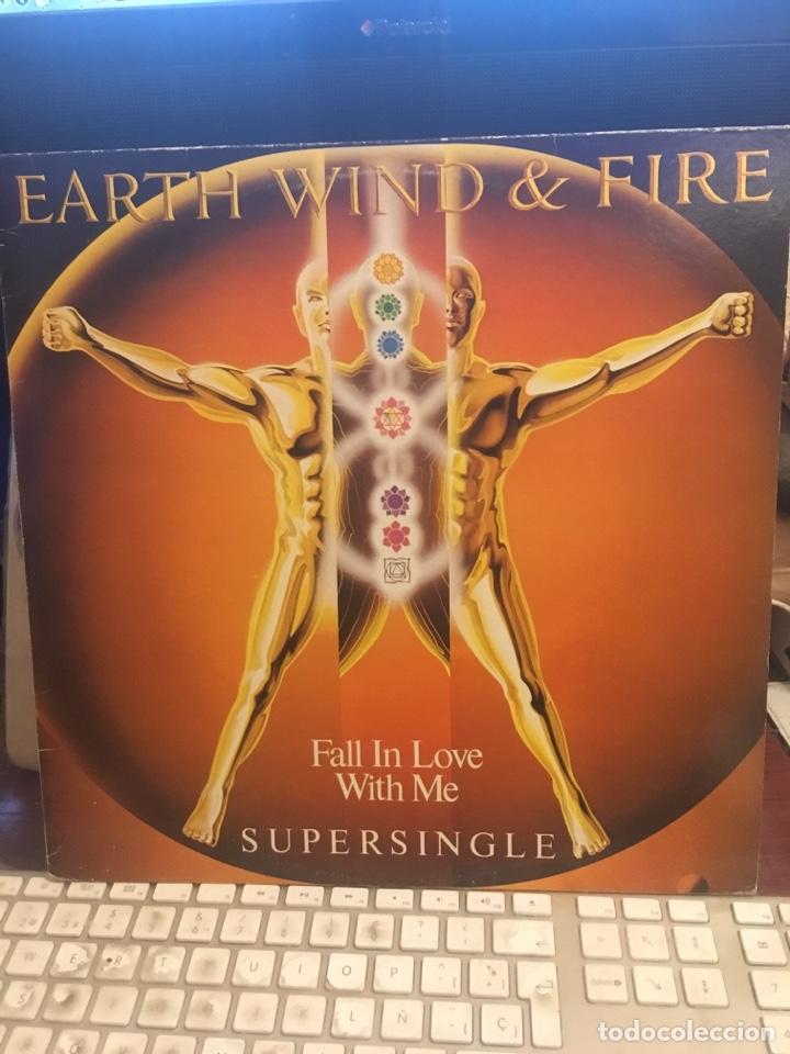 Discos de vinilo: EARTH WIND & FIRE-FALL IN LOVE WITH ME-PROMO 1983 LABEL BLANCO RARO-VINILO SIN USO - Foto 2 - 147751600