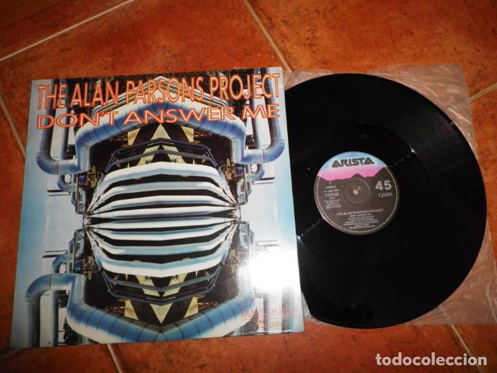 THE ALAN PARSONS PROJECT DON´T ANSWER ME MAXI SINGLE VINILO DEL AÑO 1984 ESPAÑA CONTIENE 4 TEMAS (Música - Discos de Vinilo - Maxi Singles - Pop - Rock - New Wave Extranjero de los 80)