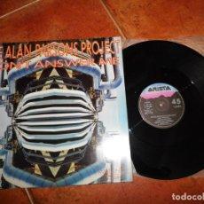 Discos de vinilo: THE ALAN PARSONS PROJECT DON´T ANSWER ME MAXI SINGLE VINILO DEL AÑO 1984 ESPAÑA CONTIENE 4 TEMAS. Lote 147751874