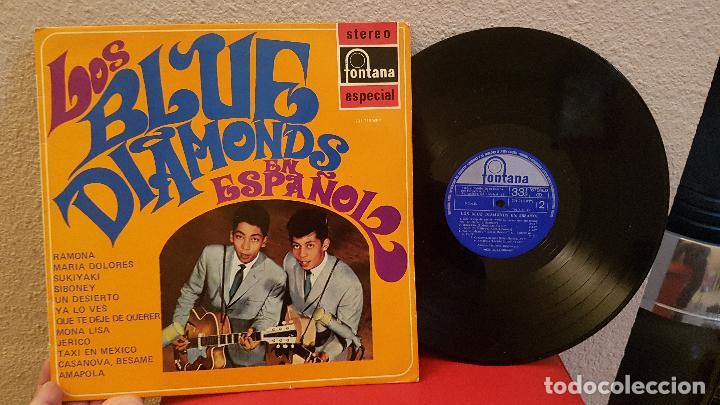 ANTIGUO DISCO DE VINILO LP LOS BLUE DIAMONDS EN ESPAÑOL FONTANA RAMONA QUE TE DEJE DE QUERER (Música - Discos - LP Vinilo - Pop - Rock Extranjero de los 90 a la actualidad)