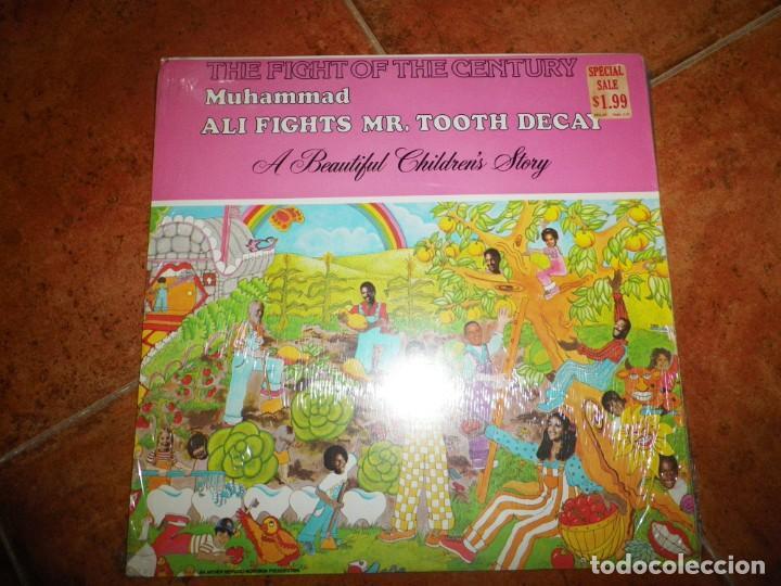 Discos de vinilo: ALI AND HIS GANG Vs. Mr. Tooth decay LP VINILO USA PRECINTADO 1976 MUHAMMAD ALI FRANK SINATRA RARO - Foto 2 - 147755818