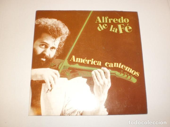 SINGLE ALFREDO DE LA FE. AMÉRICA CANTEMOS. TENDRÁS QUE LLORAR. FONOMUSIC 1992 SPAIN (SEMINUEVO) (Música - Discos - Singles Vinilo - Grupos y Solistas de latinoamérica)
