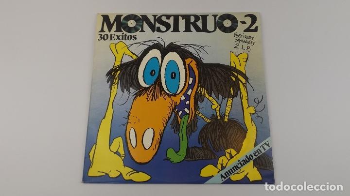 MONSTRUO-2 30 EXITOS 2 LPS (Música - Discos - LP Vinilo - Otros estilos)