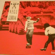 Discos de vinilo: NEGU GORRIAK LP ROCK VASCO AÑOS 90. Lote 147759186