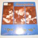 Discos de vinilo: SINGLE LOS CHUNGUITOS. POR EL AIRE VA. EMI 1991 SPAIN (PROBADO Y BIEN). Lote 147761134