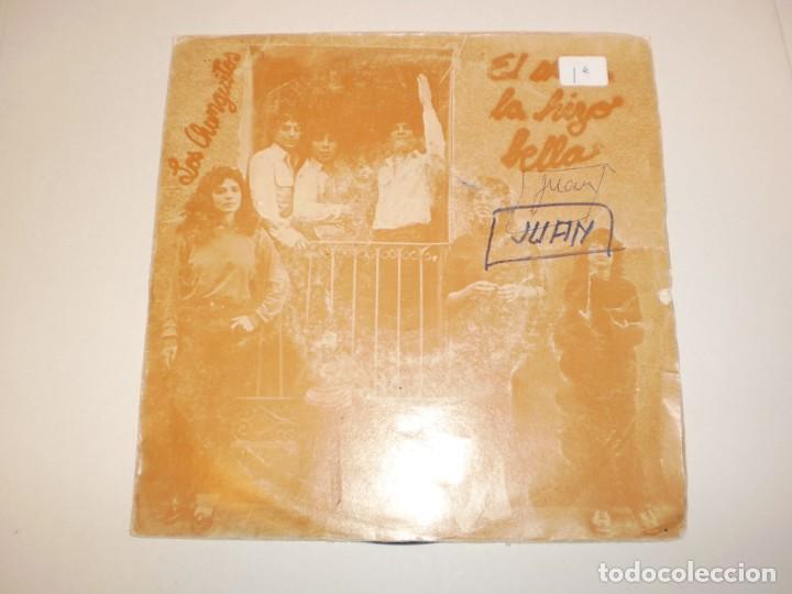 SINGLE LOS CHUNGUITOS. EL AMOR LA HIZO BELLA. OLVIDA ESE AMOR EMI 1982 SPAIN (PROBADO Y BIEN) (Música - Discos - Singles Vinilo - Flamenco, Canción española y Cuplé)