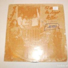Discos de vinilo: SINGLE LOS CHUNGUITOS. EL AMOR LA HIZO BELLA. OLVIDA ESE AMOR EMI 1982 SPAIN (PROBADO Y BIEN). Lote 147763190