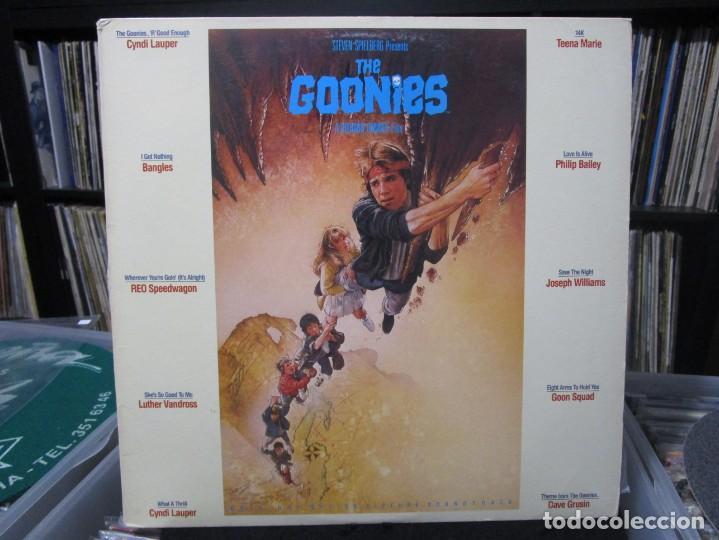 THE GOONIES - ORIGINAL MOTION PICTURE SOUNDTRACK LP USA 1985 (Musik - Vinyl-Schallplatten - LP - Soundtracks und Musik von Schauspielern)