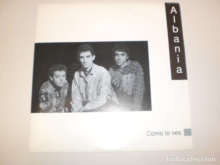 SINGLE ALBANIA. CÓMO LO VES. CFE 1991 SPAIN (DISCO PROBADO Y BIEN, SEMINUEVO) (Música - Discos - Singles Vinilo - Grupos Españoles de los 90 a la actualidad)
