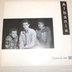 Discos de vinilo: SINGLE ALBANIA. CÓMO LO VES. CFE 1991 SPAIN (DISCO PROBADO Y BIEN, SEMINUEVO). Lote 147766690