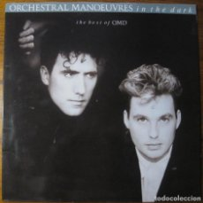 Discos de vinilo: ORCHESTRAL MANOEUVRES IN THE DARK – THE BEST OF OMD LP. Lote 147769702