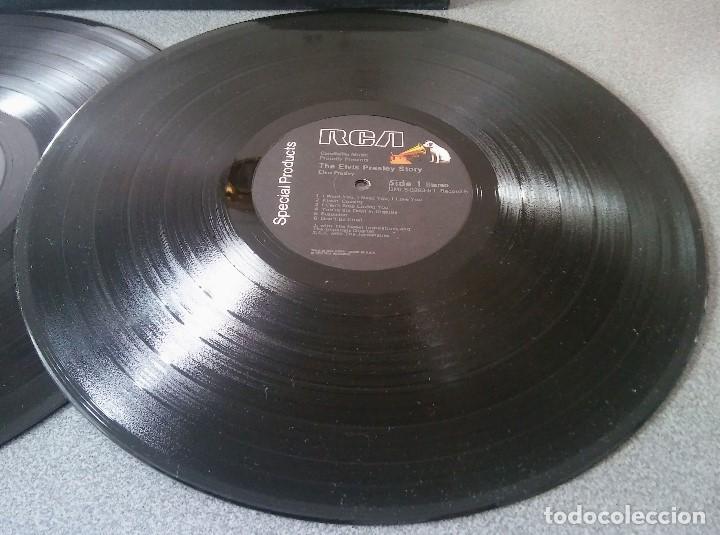 Discos de vinilo: The Elvis Presley Story - Foto 8 - 147770758