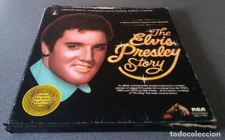 Discos de vinilo: The Elvis Presley Story - Foto 9 - 147770758
