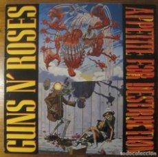 Discos de vinilo: GUNS N' ROSES –APPETITE FOR DESTRUCTION LP. Lote 147774666