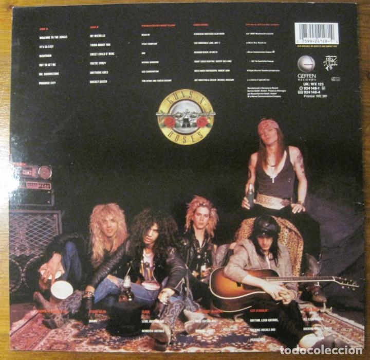 Discos de vinilo: Guns N' Roses –Appetite For Destruction Lp - Foto 2 - 147774666