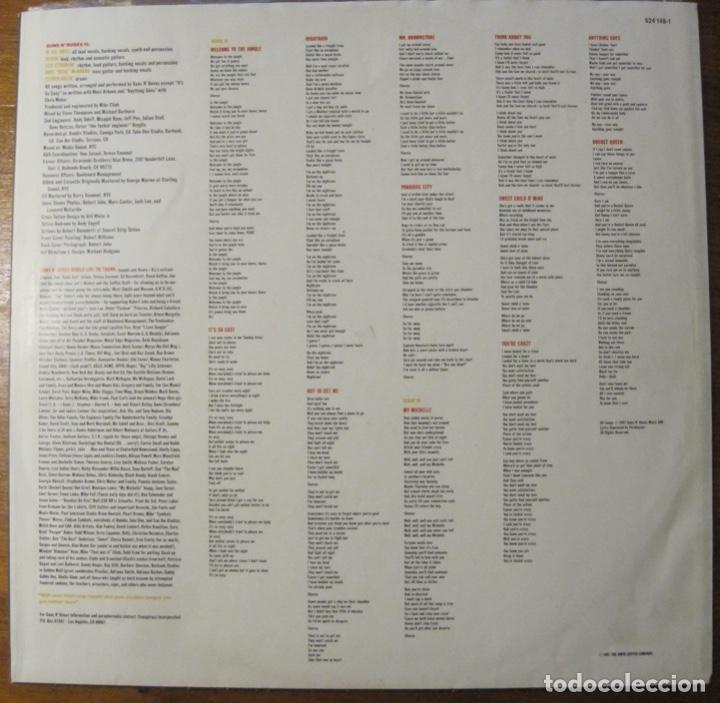 Discos de vinilo: Guns N' Roses –Appetite For Destruction Lp - Foto 5 - 147774666