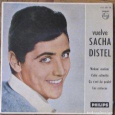 Discos de vinilo: SACHA DISTEL. PHILIPS 432 583 BE. ESPAÑA. FUNDA VG++ NOMBRE DE PROPIETARIA ESCRITO. DISCO VG++.. Lote 147774982